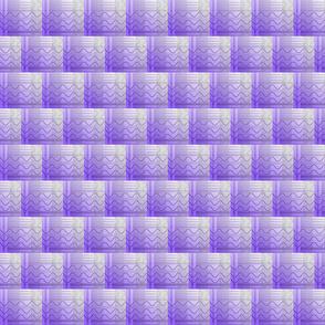 joe plaid mono purple