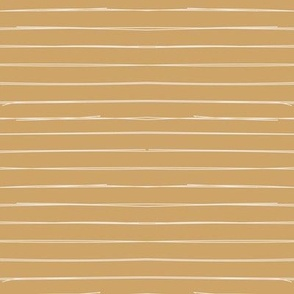 Bone Stripes on Mustard Gold