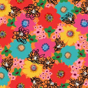 Flower Power – Orange