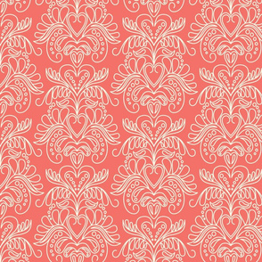 Be My Valentine Coral Cream