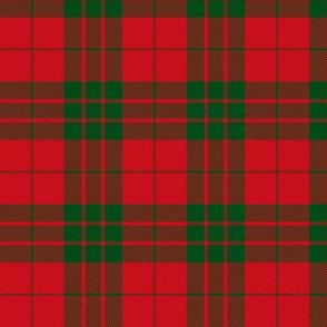 "MacGregor of Glenstrae 1829 tartan, 3"""