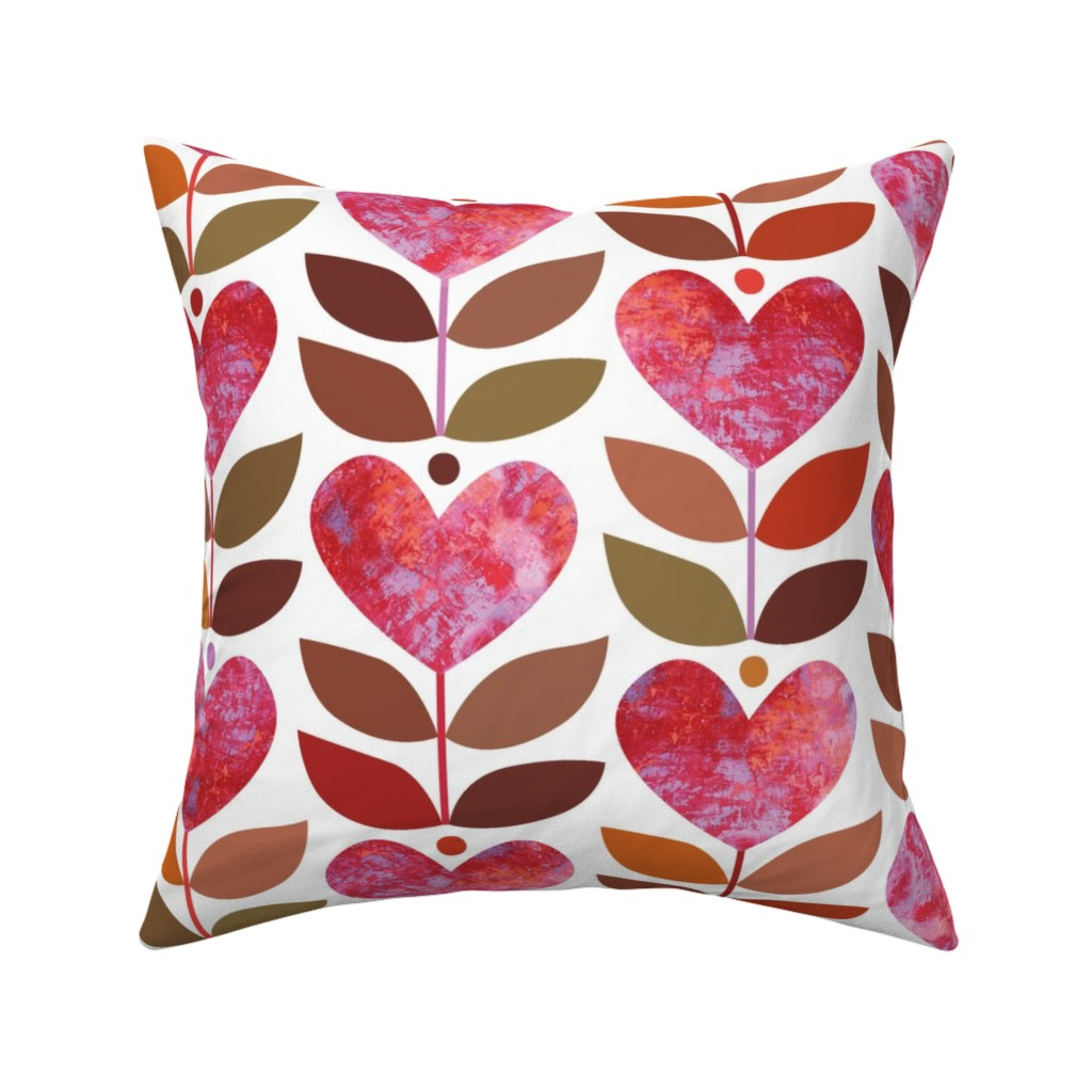 Catalan Throw Pillow featuring Love Grows by kokara