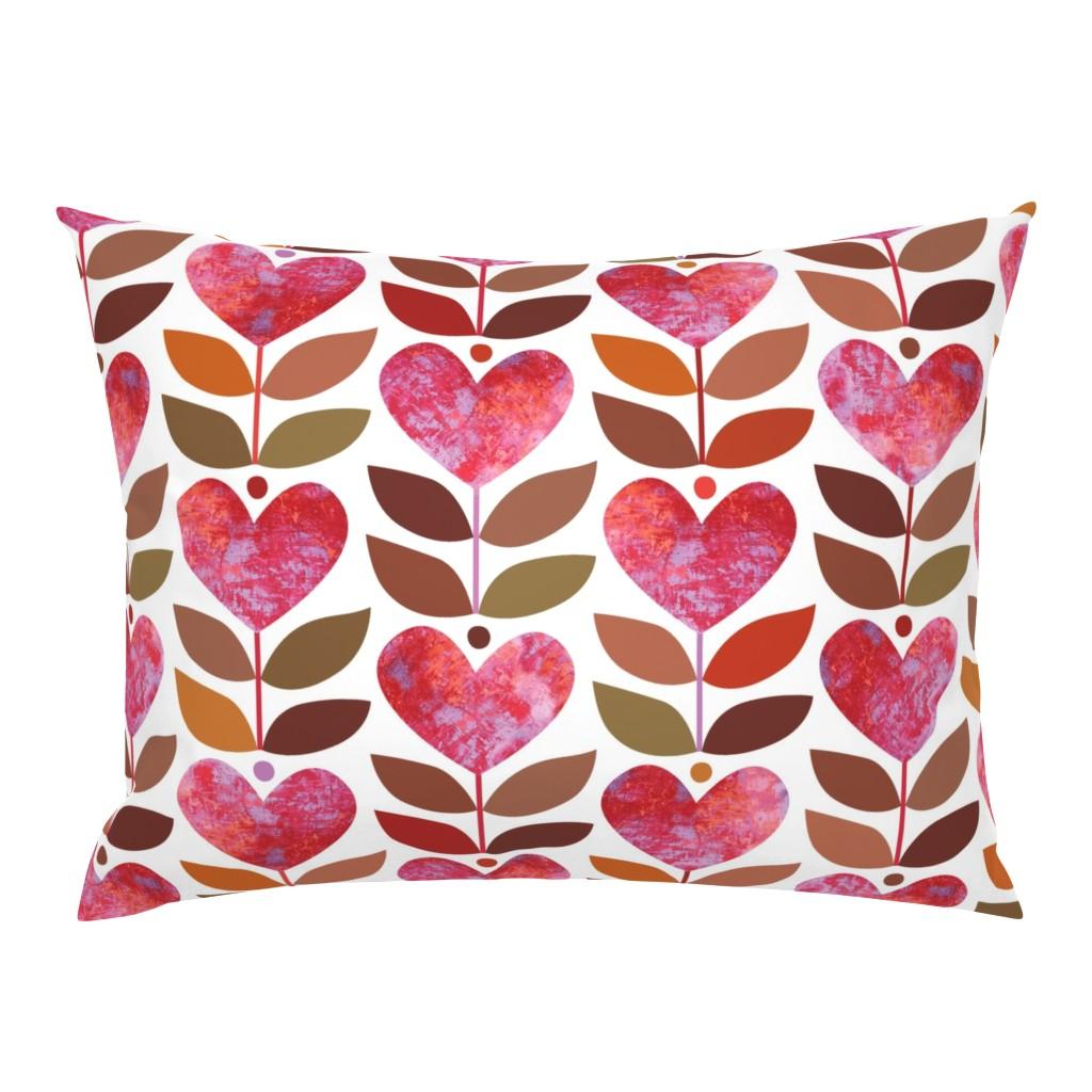 Campine Pillow Sham featuring Love Grows by kokara