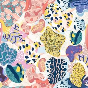 Sea Slug Animal Print - Fat Quarter Scale