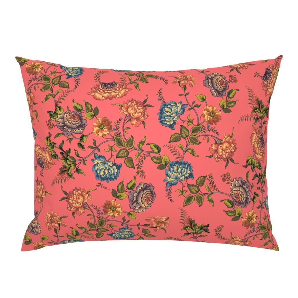 Campine Pillow Sham featuring Alstan pink lemonade by lilyoake