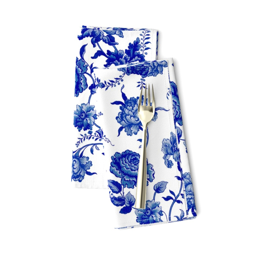 Amarela Dinner Napkins featuring Alstan delft by lilyoake