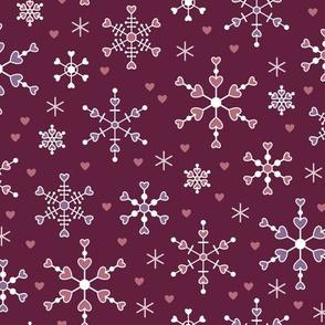Heart Snowflakes (Smitten)