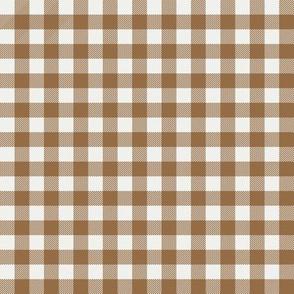 """chipmunk check fabric - sfx1044 - 1/2"""" squares - check fabric, neutral plaid, plaid fabric, buffalo plaid"""