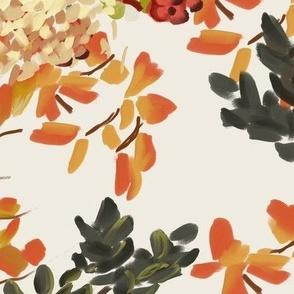 Pink Roses - Vintage Watercolor(303)Blue2