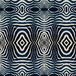 Zebra Print -Ink & Ivory