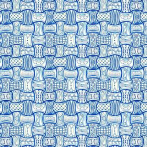 blue huggins