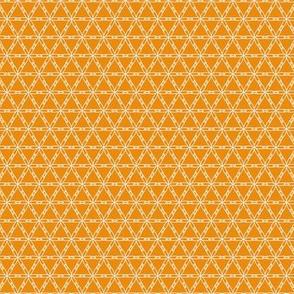 Japanese Flowers - Orange