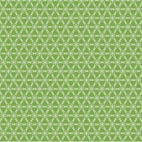 Japanese Flowers - Green
