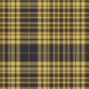 Golds and Charcoal Plaid