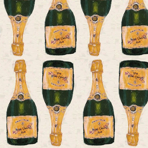 gold champagne bottles basic repeat