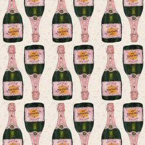 "champagne bottles - about 2"" basic repeat"