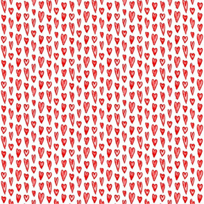 Watercolor Hearts - Compact