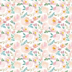 Easter Spring Perfect Peach and Blush Watercolor floral