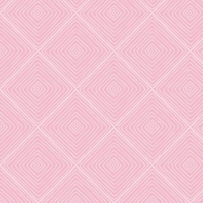 Squared Up (pink kiss) Coordinate for Sloth patchwork fabric, Design GG