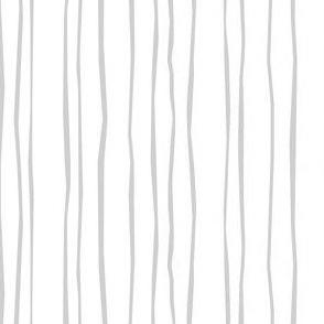 Narrow Silver Stripe