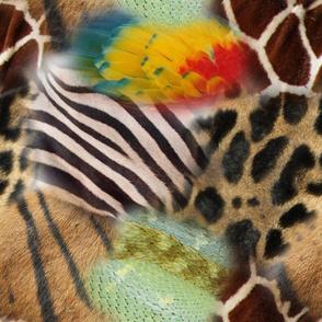 Animal Print Mosaic