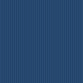 Tiniest Pinstripe Navy Blue 1:6