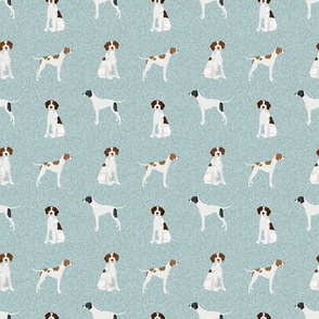 SMALL  - english pointer pet quilt d dog breed quilt coordinate