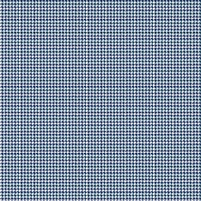 Houndstooth Navy Blue And White 1:6