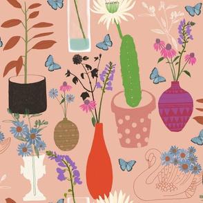 Romantic Botanic – Dusky Pink