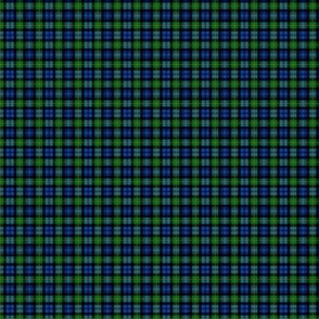 "Gordon Highlanders tartan, 1""  no-twill blend, modern colors"