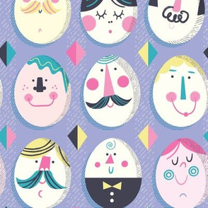 Egg Head (lavender)