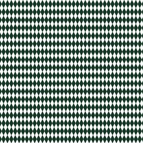 Harlequin Large Phthalo Green And White