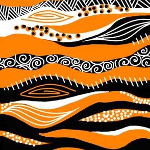 Tigers & Tribal Textures