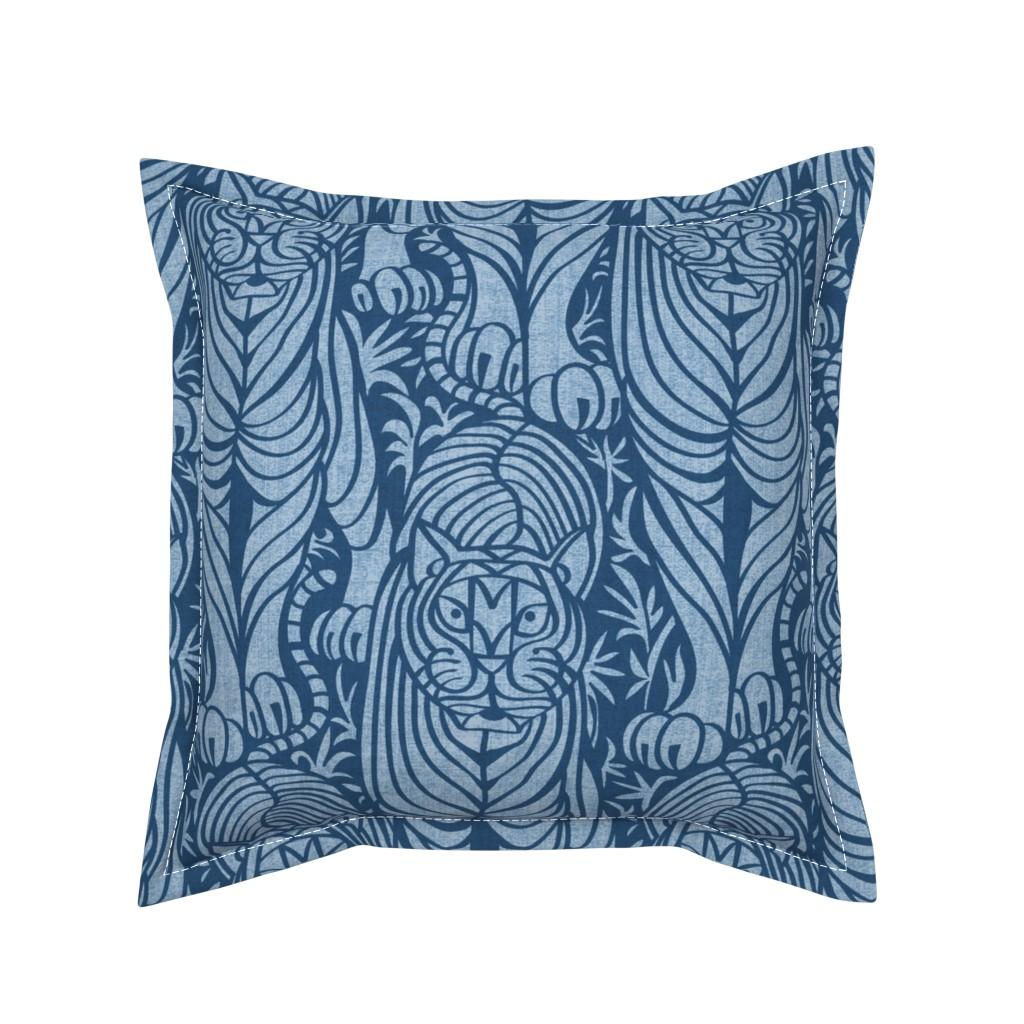 Serama Throw Pillow featuring Hidden Tiger by meliszawang