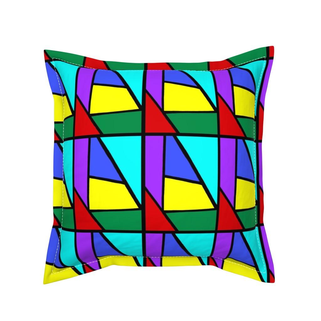 Serama Throw Pillow featuring Regatta #1 by bravenewart