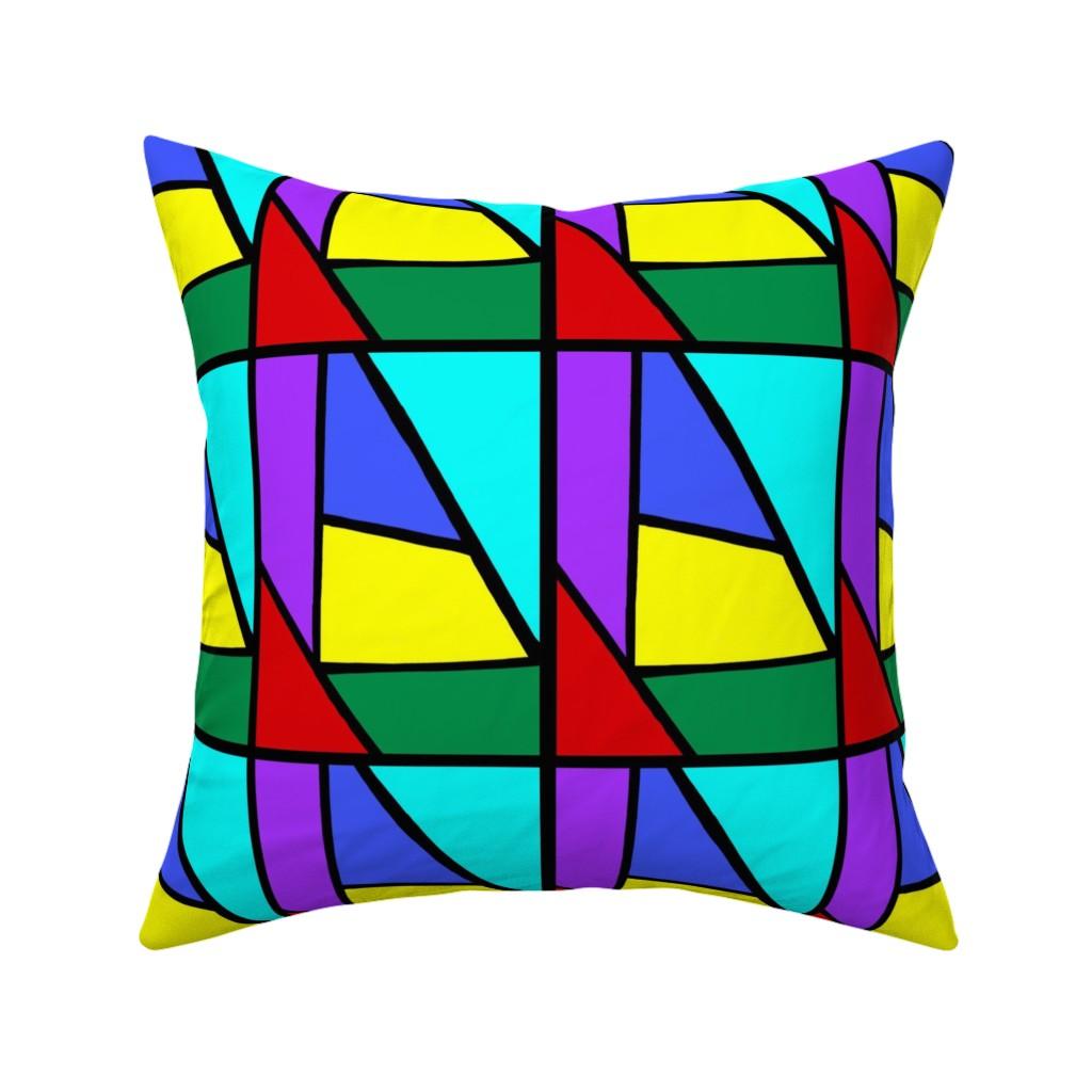 Catalan Throw Pillow featuring Regatta #1 by bravenewart