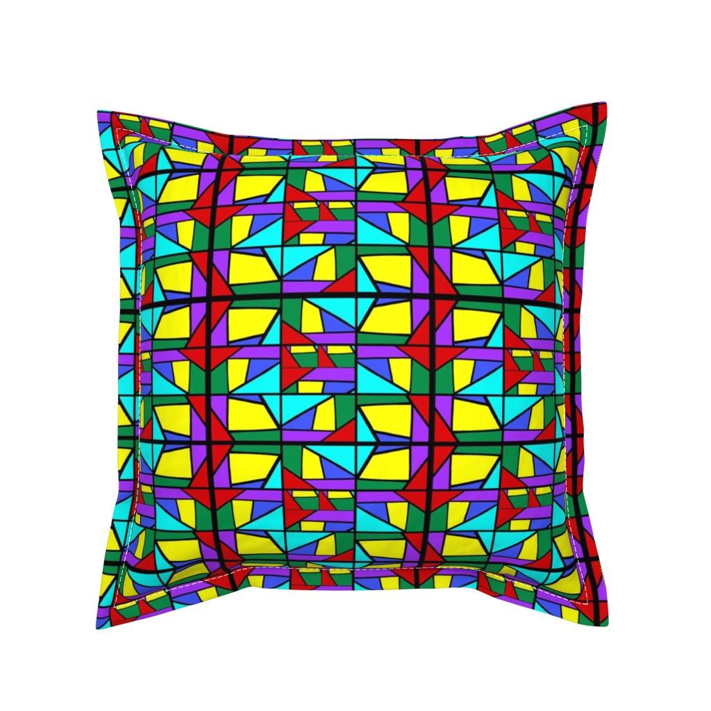 Serama Throw Pillow featuring Regatta #2 by bravenewart