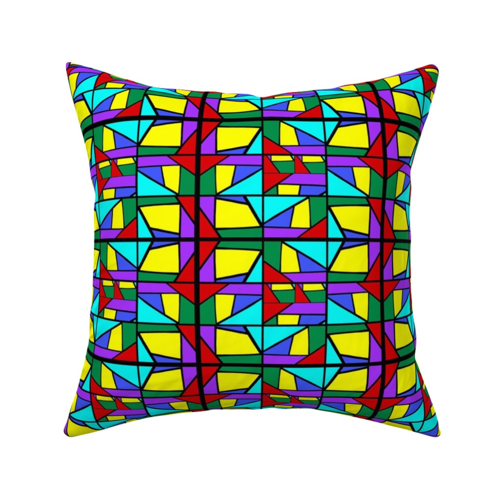 Catalan Throw Pillow featuring Regatta #2 by bravenewart