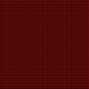 Squares And Crosses Black On Cherry Red 1:6