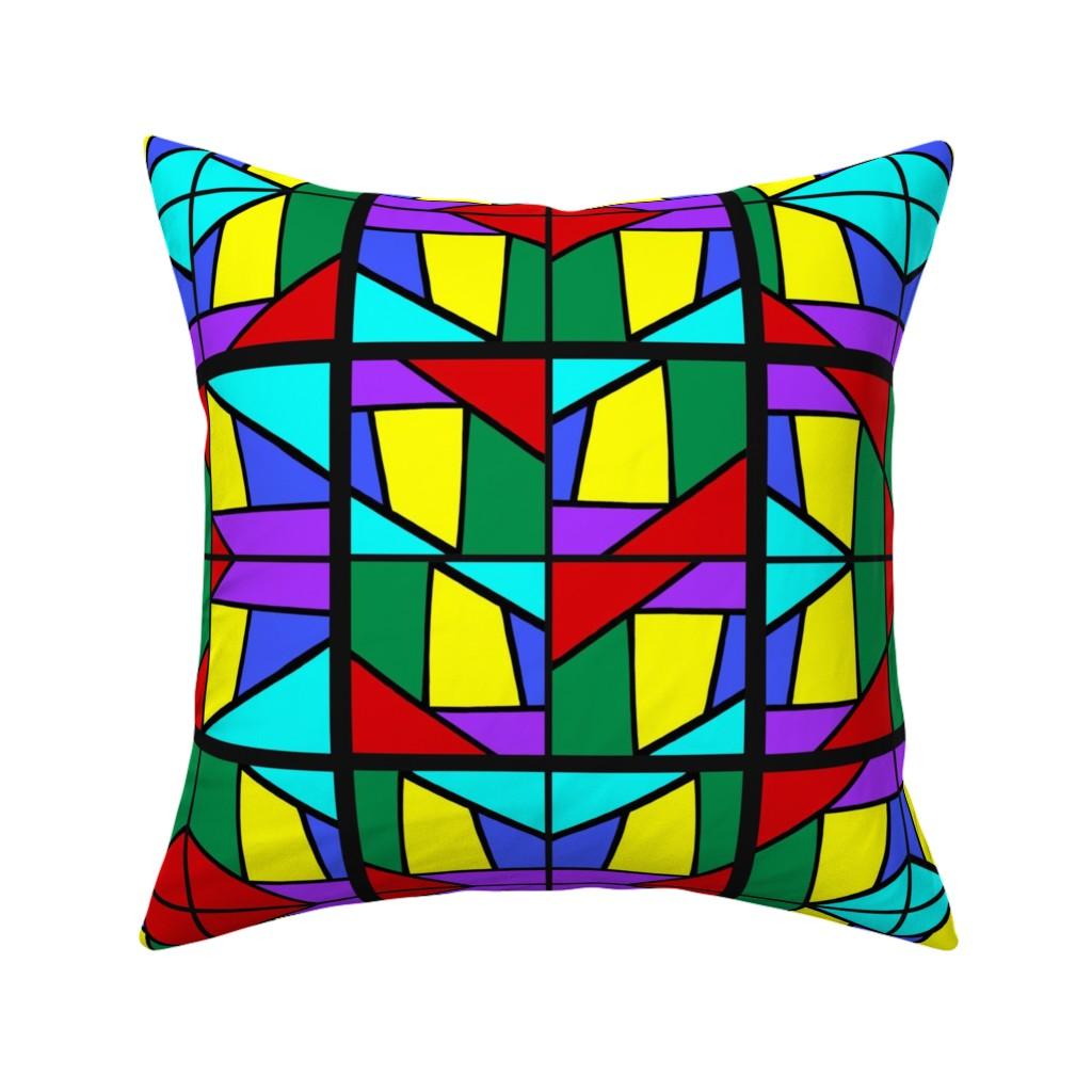 Catalan Throw Pillow featuring Regatta #3 by bravenewart
