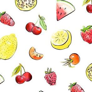 Tropical summer fruit