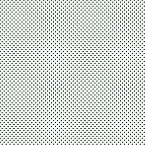 Polka Dots Phthalo Green On White 1:6