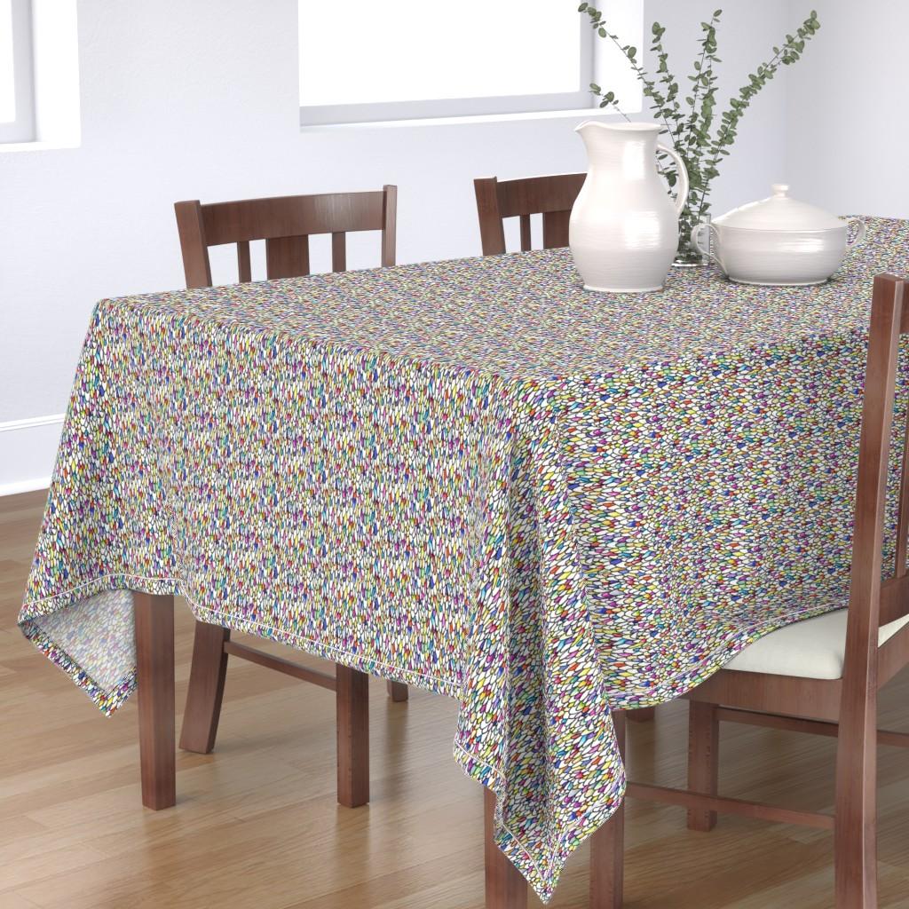 Bantam Rectangular Tablecloth featuring Gursdee-eqsue by autumn_musick