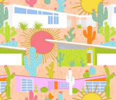 Midcentury Modern Desert Neighborhood