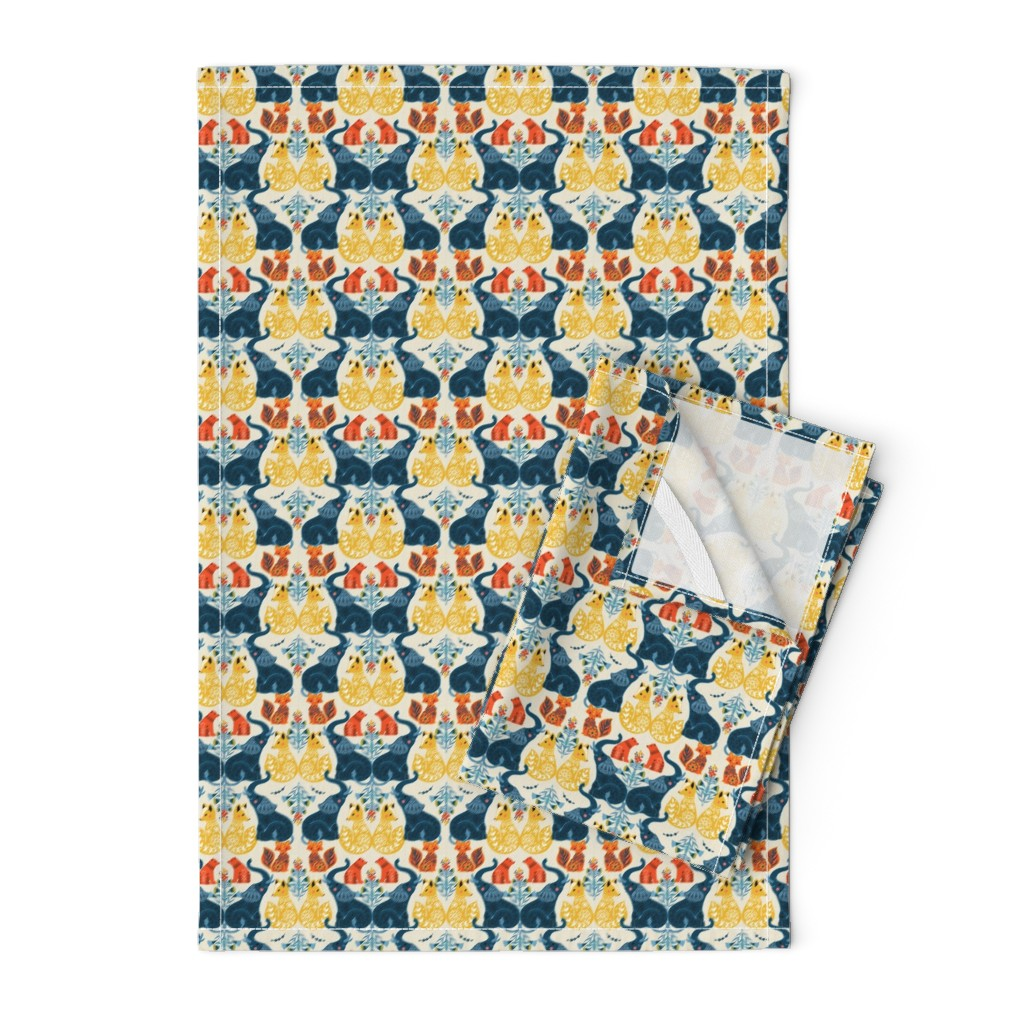 Orpington Tea Towels featuring Animal prints by michelle_luu