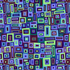 Crazy Squares blues