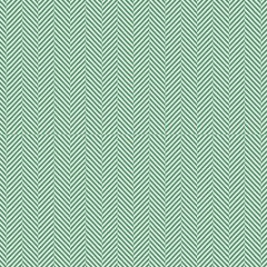 herringbone tiny kelly green 50%