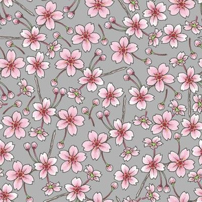 Sakura - Grey