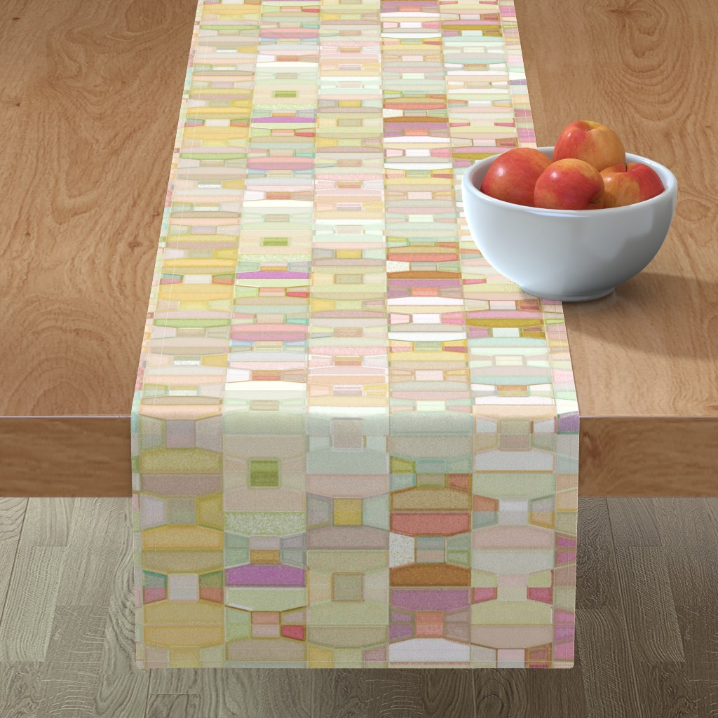 Minorca Table Runner featuring Bottleshop - Taos by ormolu