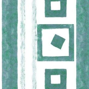 green sand-stripes
